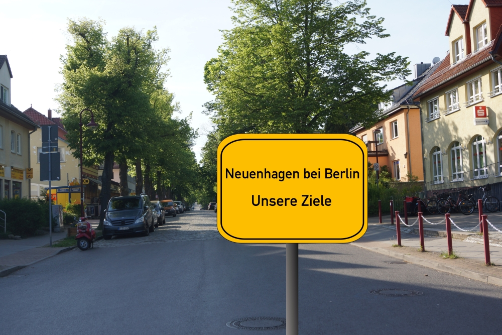 Unser Programm zur Kommunalwahl für Neuenhagen bei Berlin